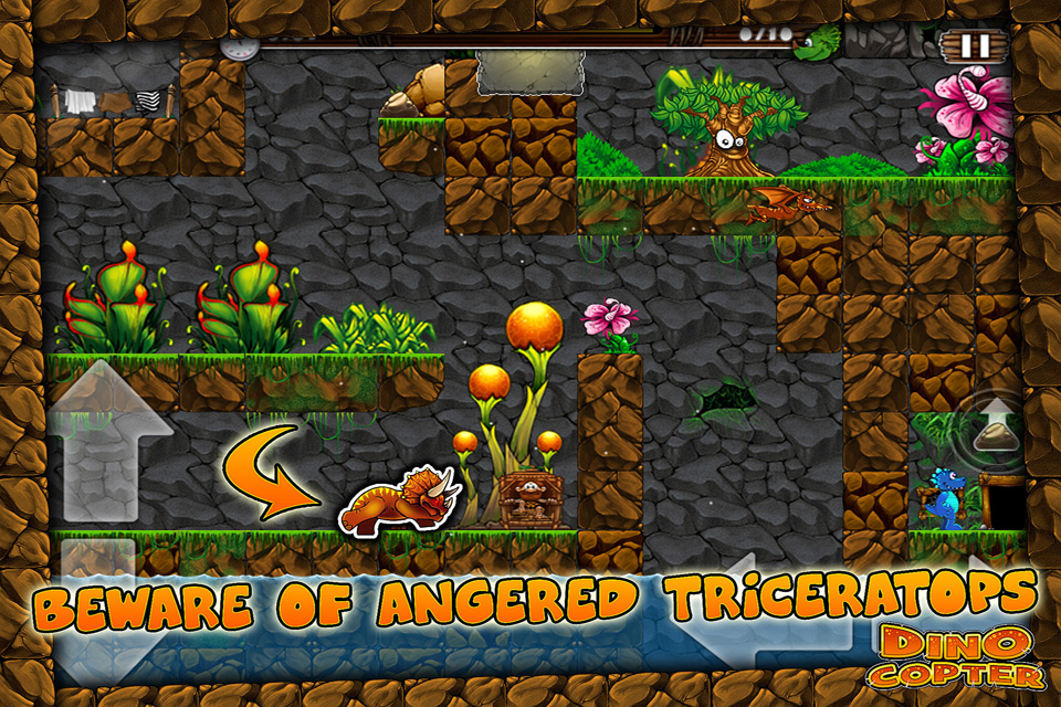 Screenshot Dino Copter Free