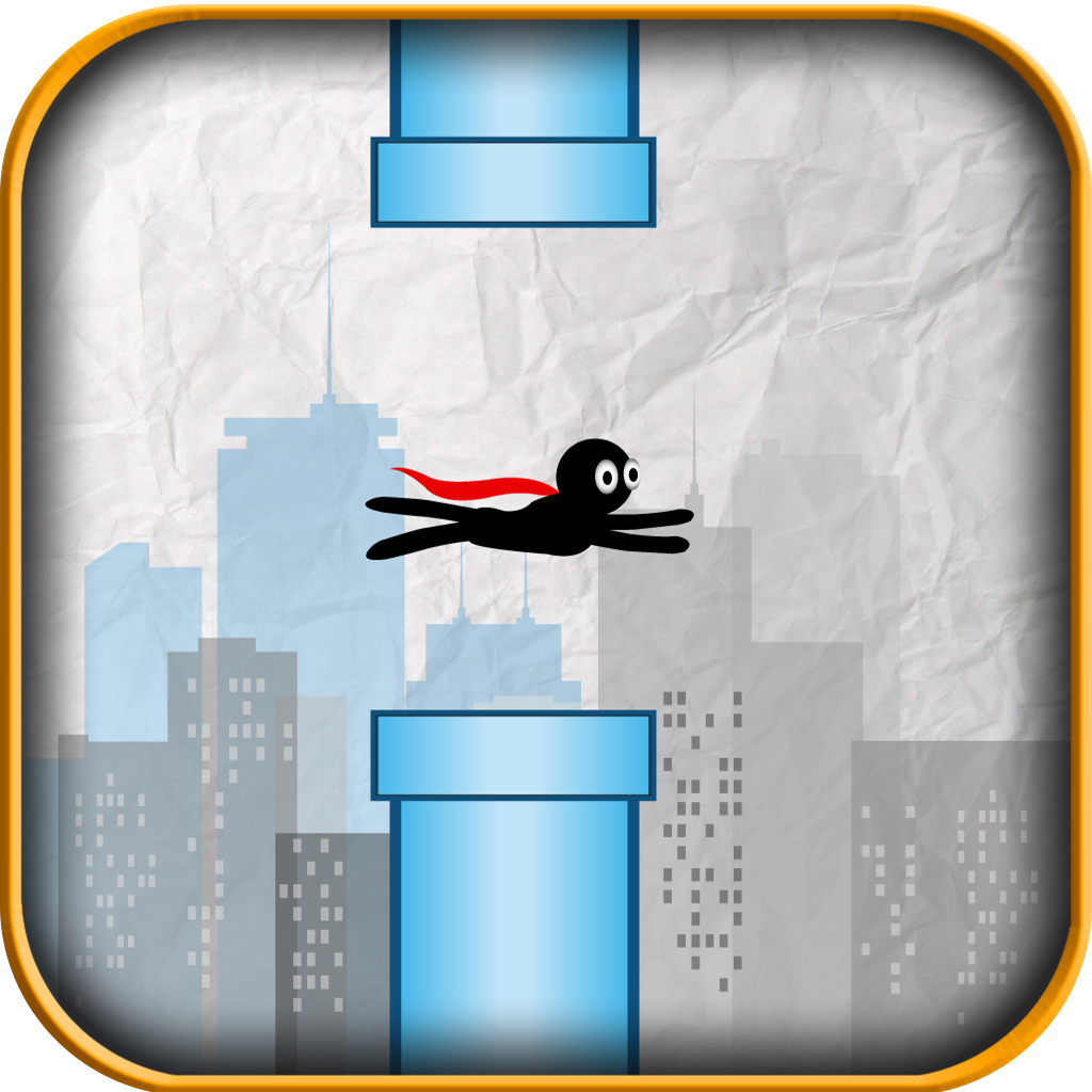 A Stickman Flyer Game
